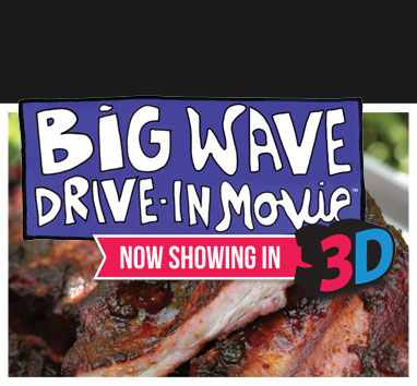 Big Wave Drive-In Movie Themed Event Party